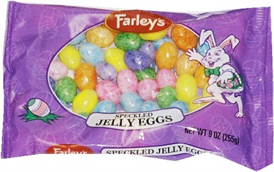 Specked Jelly Eggs 9oz Bag (discontinued)