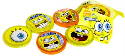 SpongeBob Squarepants Milk Chocolate Coins (Sold Out)
