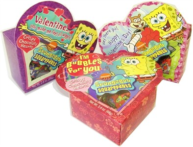 Spongebob Chocolate Valentine Heart Box (sold out)