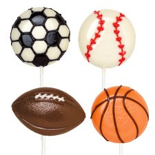 Sports Large Lollipop Mold (SOLD OUT)