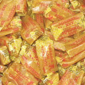 Squirrel Nut Zippers Candy - 1LB