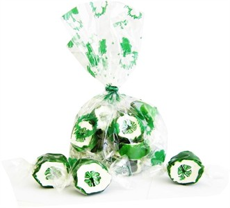 St. Patrick Shamrock Taffy Candy Gift Bag (Sold Out)