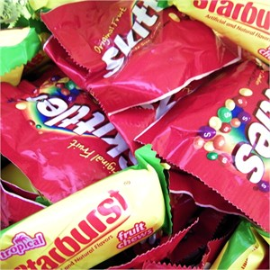 Starburst and Skittles Variety Mix Candies 3.5lb Bag (DISCONTINUED)
