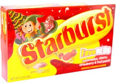 Starburst Fave Reds Holiday Theater Box (SOLD OUT)