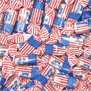 USA Flag Tootsie Rolls 5LB (Coming Soon)