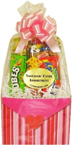 Stripes & Hearts Nostalgic Candy Baskets (DISCONTINUED)