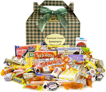 St. Patricks Retro Candy Gift Box