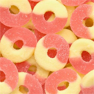 Gummy Rings - Strawberry Banana 4.5LB