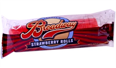 Broadway Strawberry Ribbon Rolls - 2ct.