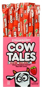 Goetze Cow Tales - Strawberry Flavor 36ct.