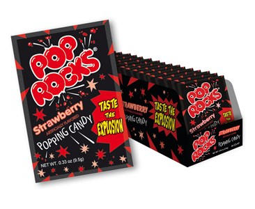 Pop Rocks - Strawberry 24ct.