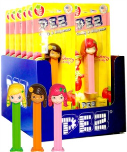 Strawberry Shortcake & Friends Pez Dispensers 12ct. (discontinued)