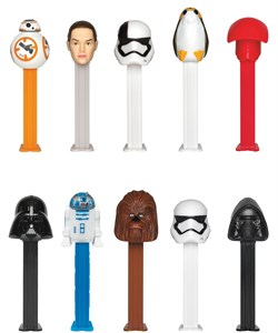STAR WARS Clone Wars Pez Dispensers 12ct