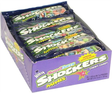Shockers Chewy Mini Candies 24ct. (discontinued)