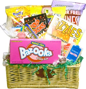 Sugar Free Assortment Candy Basket (Sold Out)
