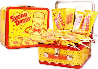 Sugar Daddy Candy Lover Tin Lunch Box