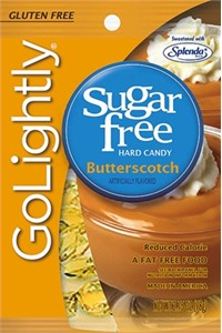 GoLightly Butterscotch Discs Sugar Free
