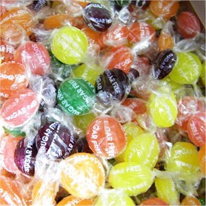 SUGAR FREE Hard Tangy Fruits Candy 1lb (DISCONTINUED)