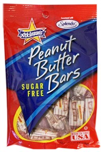 Peanut Butter Bars SUGAR FREE 3.75oz.