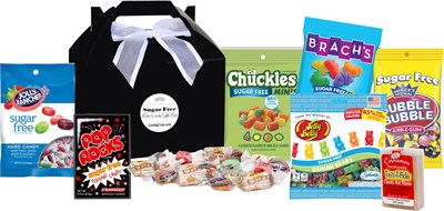 <strong>Sugar Free Retro Candy Gift Box </strong>