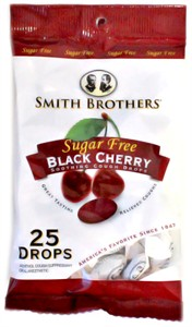 Sugar Free Black Cherry Smith Brothers Cough Drops
