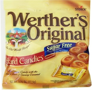 Werther's Sugar Free Original Hard Candies 2.75oz. (Sold Out)