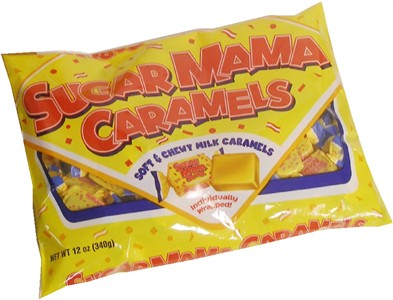 Sugar Mama Soft Caramel Candy 12oz (Discontinued)