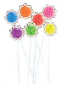 Sunflower Twinkle Pops Assorted 7 Flavors 120ct.