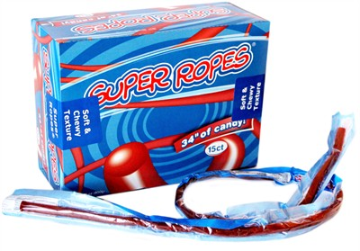 Super Ropes Licorice Ropes - 15ct. (coming soon)