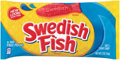 Swedish Fish Candy - Red