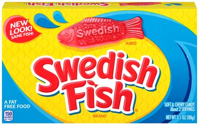 Swedish Fish RED Theater Size Boxes 12ct