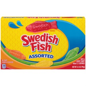 Swedish Fish Theatre Size Boxes - ASSORTED 12ct.