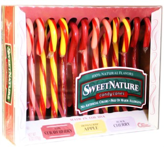 Sweet Nature Candy Canes - Fruit 12ct.
