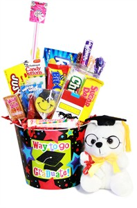 Sweet Success Graduation Candy Bucket