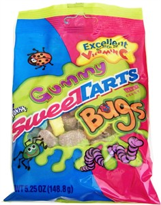 Sweetarts Gummy Bugs 5.25oz. Bag (DISCONTINUED)