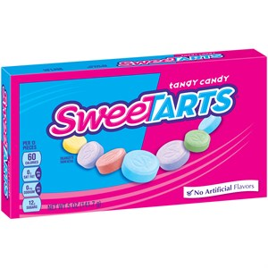 Sweetarts Candy Theatre Size Boxes 12ct.