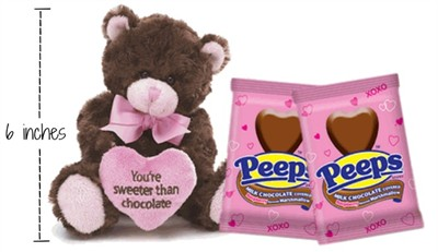 Sweeter Than Chocolate with Chocolate Covered Heart Peeps