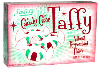 Candy Cane Peppermint Taffy Theater Box 3oz. (SOLD OUT)