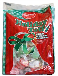Holiday Taffy Assorted Flavors 14oz. Bag (SOLD OUT)