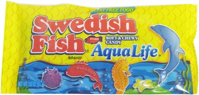 Swedish Fish Candy  -  AquaLife (discontinued)