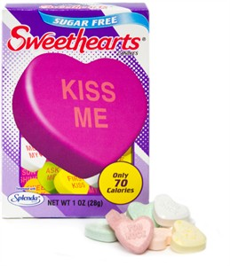 Sugar Free Sweethearts Box by NECCO