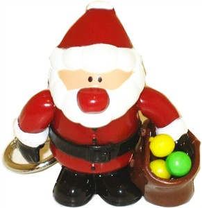 Sweet Santa Candy Dispenser Keychain (Sold Out)