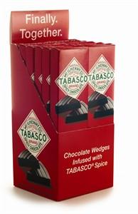 Tabasco Chocolate Wedges 12ct. (discontinued)