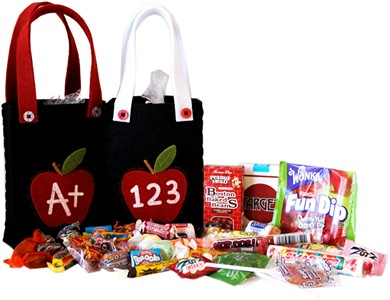 Teacher Tote Nostalgic Candy Assortment