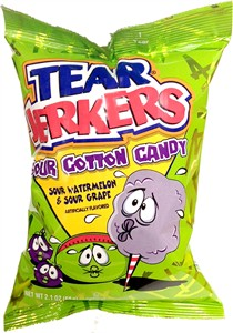 Tear Jerkers Sour Cotton Candy