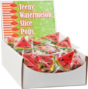 Teeny Watermelon Slice Pops 96ct.(sold out)