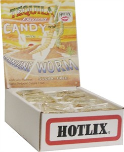 Tequila Flavored Worm Suckers