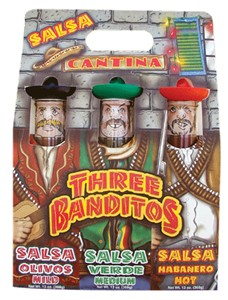 Three Banditos Salsa Gift Set