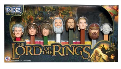 Lord of the Rings PEZ Dispenser Collectors Series