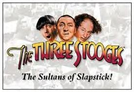 Three Stooges Tin Signs